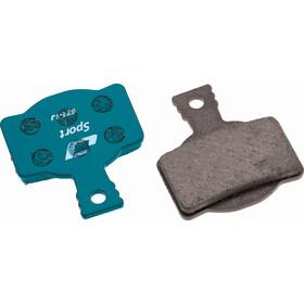 Jagwire Sport Organic Bremsbeläge für Magura MT7/MT5/MT Trail Front 1 Paar blau
